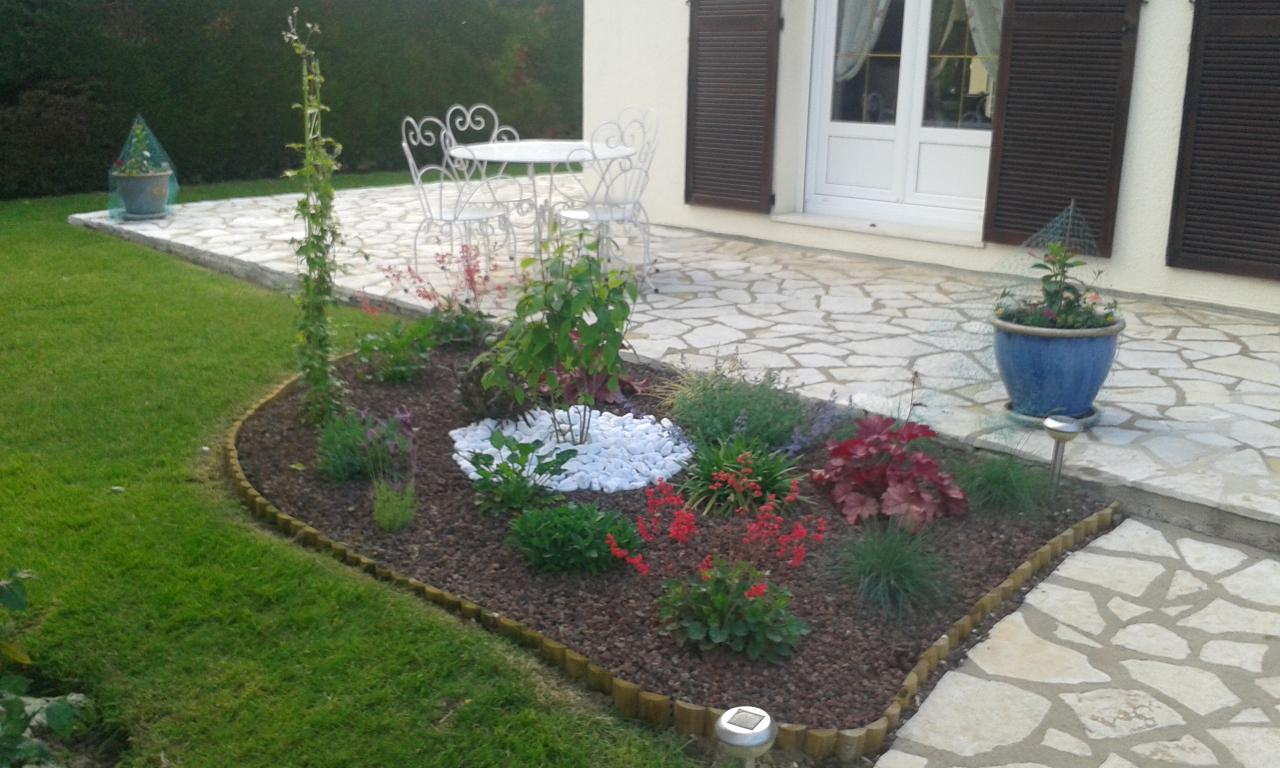 Plantation cr ation de massifs paillage - Deco jardin mineral boulogne billancourt ...