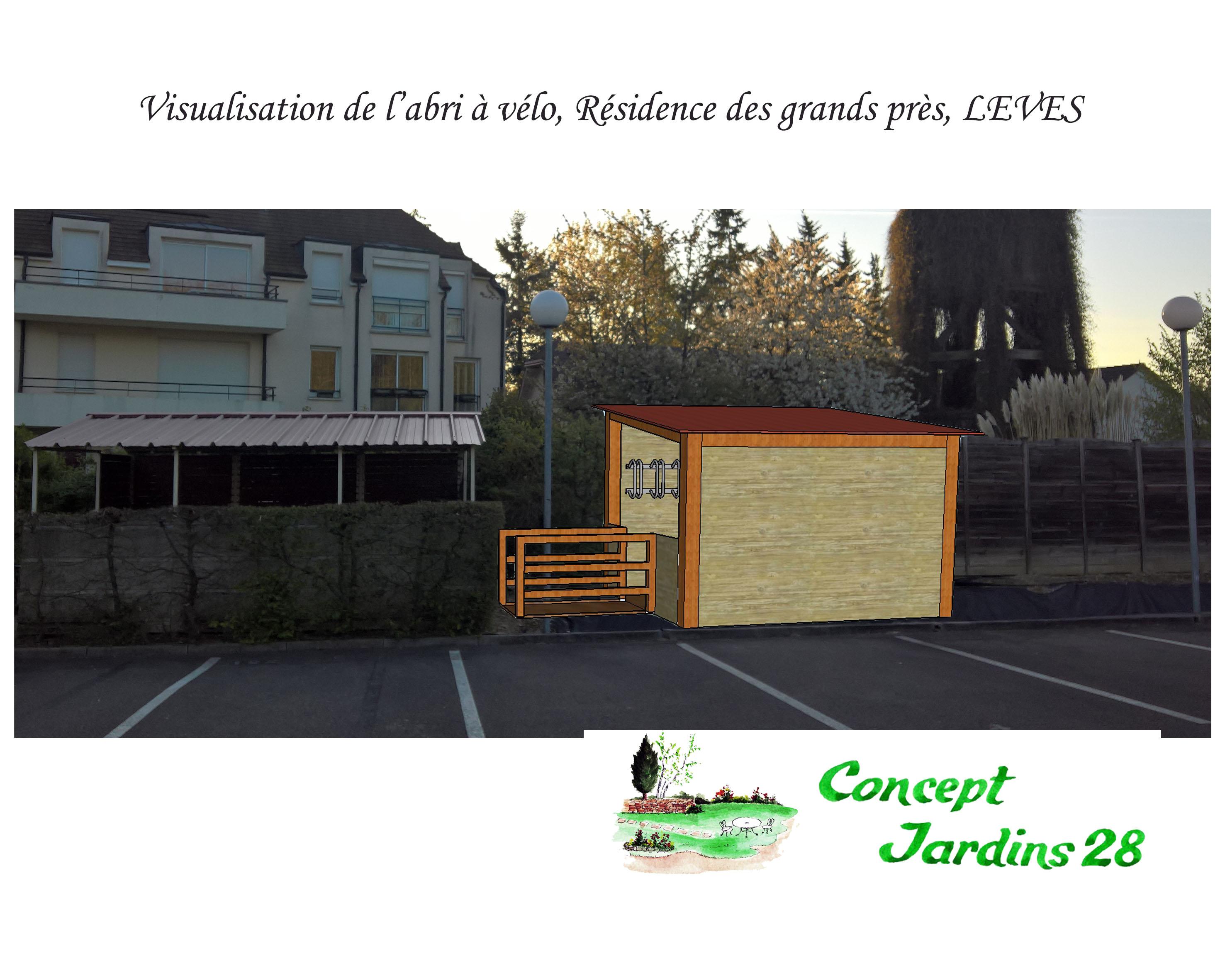 Photo-montage pour la dépose d'un permis en mairie (avant modification)